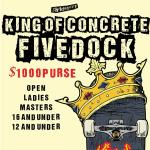 King Of Concrete Fivedock 16 and Under Results