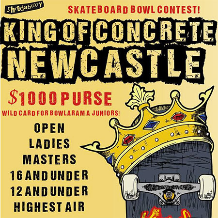 King of Concrete Newcastle 16 and Under