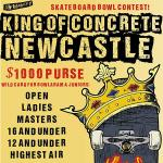 King of Concrete Newcastle 16 and Under Results