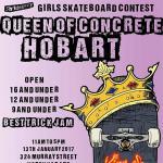 Queen of Concrete Hobart Open Results