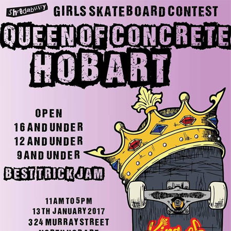 Queen of Concrete Hobart 9 and Under
