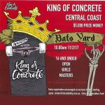 King Of Concrete Bato Yard Bowl 16 and Under Results