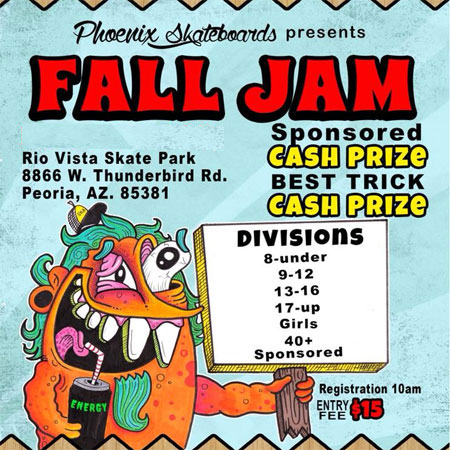 Phoenix Fall Jam 17 and Up