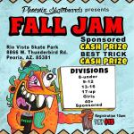 Phoenix Skateboards Fall Jam 13 to 16 Results